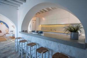 A kitchen or kitchenette at Villa Veni