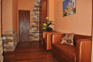 Гостиная зона в Сити Центр VIP Апартаменты