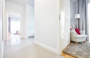 A bathroom at Novis Apartments Przy Arkadii