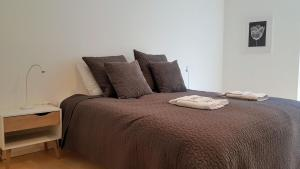 A bed or beds in a room at One-bedroom apartment in Copenhagen - Amerika Plads 32B (ID 10125)