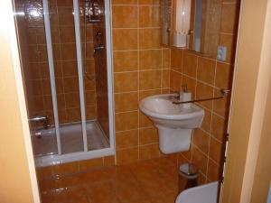 A bathroom at Apartmány Studio 58