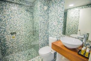 Ванная комната в Alva Hotel Apartments