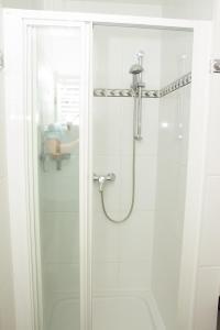A bathroom at Hotspot Apartments Westbahnhof