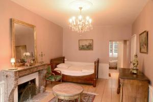 Salle de bains dans l'établissement Gîte Le Stanislas