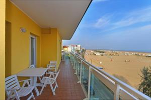 Balkón nebo terasa v ubytování Hotel Villa Olga