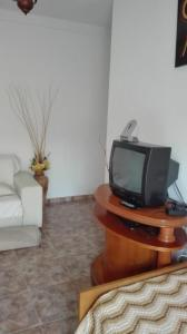 A television and/or entertainment center at Casa Rural