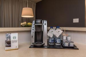 Coffee and tea-making facilities at Lester Lofts by Bower Hotels & Suites