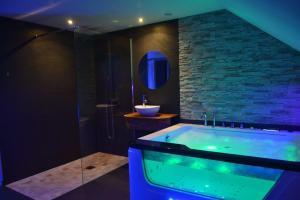 Salle de bains dans l'établissement JnSpa21