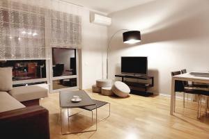 Atpūtas zona naktsmītnē Sakura Apartments