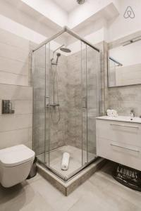 A bathroom at Bajcsy 39 Apartment