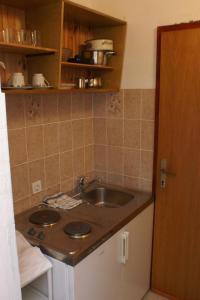 A kitchen or kitchenette at Studio Zrnovska Banja 154d