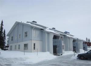 YlläsStar Apartments during the winter