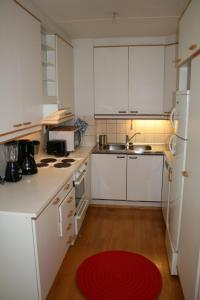 Cuisine ou kitchenette dans l'établissement One bedroom apartment in Pori, Antinkatu 31 (ID 11025)