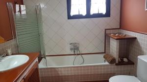 A bathroom at La Casa de Tara