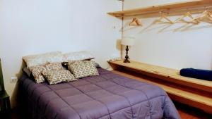 A bed or beds in a room at Delta tigre