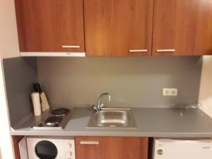 A kitchen or kitchenette at SDL Apartments Villa Park