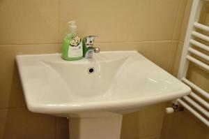 """A bathroom at Cosy Studio - TOP Location """"Soho"""""""