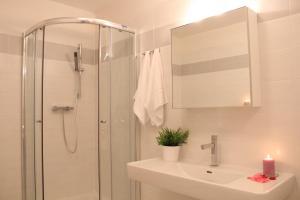 A bathroom at MH Apartments Central Prague