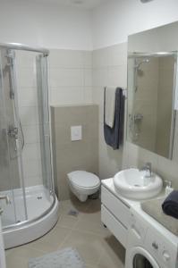 A bathroom at Sarajevo City Center
