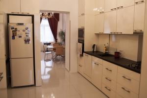Una cocina o zona de cocina en Private modern apartment by Prague Castle