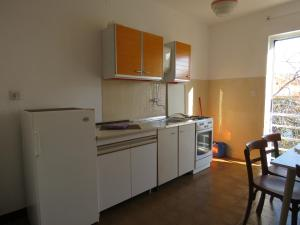 A kitchen or kitchenette at Novalja center
