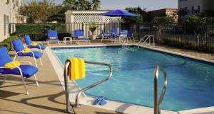 The swimming pool at or close to TownePlace Suites by Marriott Houston NASA/Clear Lake