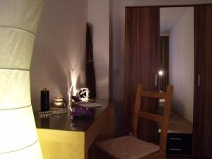 A bed or beds in a room at City Apartment Berlin Mitte