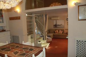 Гостиная зона в Casa Indipendente 50 Metri Dal Mare