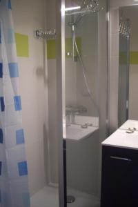 Salle de bains dans l'établissement Bel appart modern au pied du grand Veymont