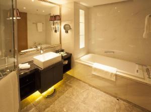 Ein Badezimmer in der Unterkunft Lee Garden Service Apartment