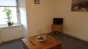 A television and/or entertainment center at Whole refurbished traditional flat