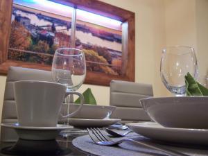 Orchidea Central Apartment 레스토랑 또는 맛집