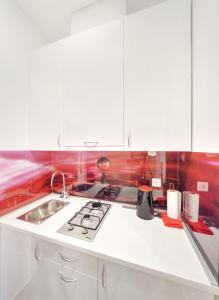 A kitchen or kitchenette at Apartments Postic
