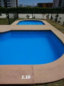 The swimming pool at or near Depto en La Serena Condominio Pacifico 1