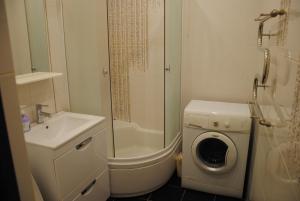 Ванная комната в Апартаменты на пр. Больничный 10