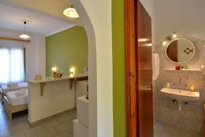 A bathroom at Maistro Apartments
