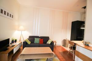 A seating area at Apartment Boulevard Brune