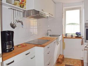 Küche/Küchenzeile in der Unterkunft Holiday Home Patersberg