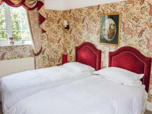 Vuode tai vuoteita majoituspaikassa White Oak Grange
