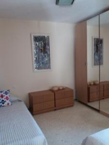 A seating area at Apartamento Sin Fronteras
