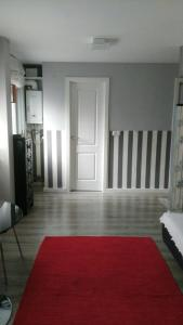 A bed or beds in a room at Apartamento Laguna
