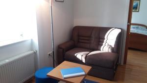 Predel za sedenje v nastanitvi Apartment Slavica