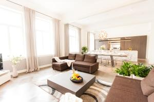 A seating area at Residence Glamour Premium