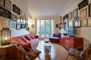 Charming and elegant Marais area flat