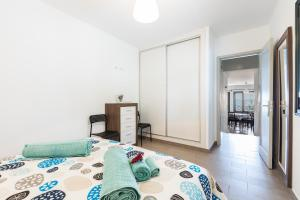 Cama o camas de una habitación en Lizzy apartment