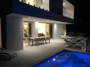 The swimming pool at or close to Villa Trogir