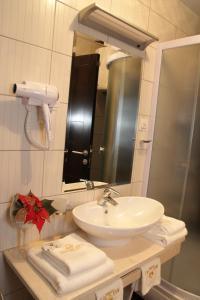 Kupatilo u objektu Hotel Royal Spa