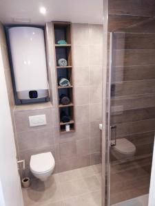 A bathroom at Cosy Apartment Anatole Vitry