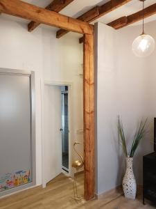 A bathroom at Flamingo's Apartment