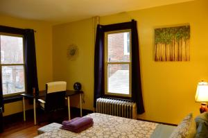 A television and/or entertainment center at Adorable Apartment in University City